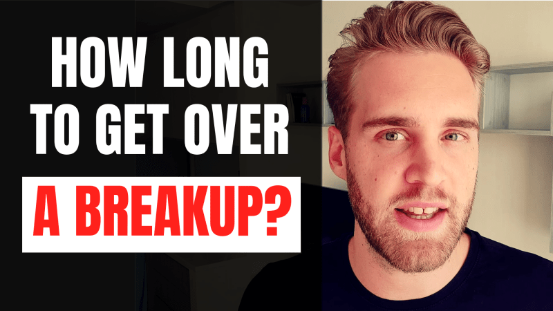 How long does it take to get over someone after breakup